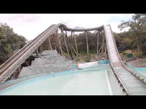 A mojarse en el Splash de Six Flags Mexico
