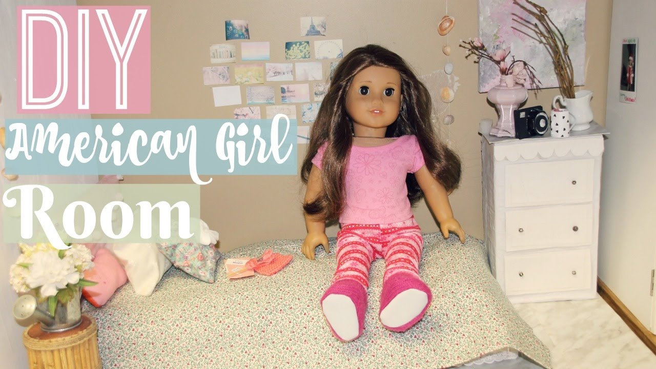diy ag room how to make an american girl bedroom youtube - How To Make A American Girl Room