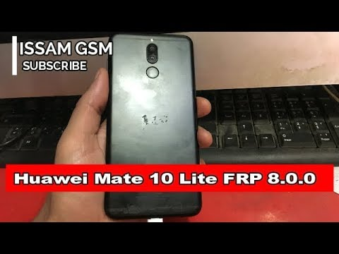 Huawei Mate 10 Lite How To Bypass google account Android 8 0 0 frp easy way