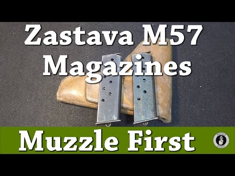 Zastava M57 Magazine Disassembly And Cleaning