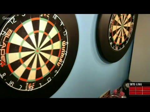 Magician hits webcamdarts.com First streamed NINE dart leg!