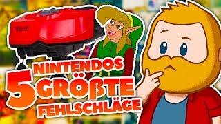 Nintendos 5 GRÖßTE Fehlschläge!