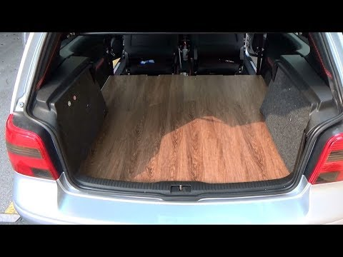 How to Make A Vinyl Floor FOR YOUR CAR!!!