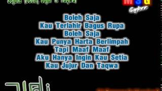 Wali Band - Sejuta (Setia, Jujur dan Taqwa) + Lirik Lagu