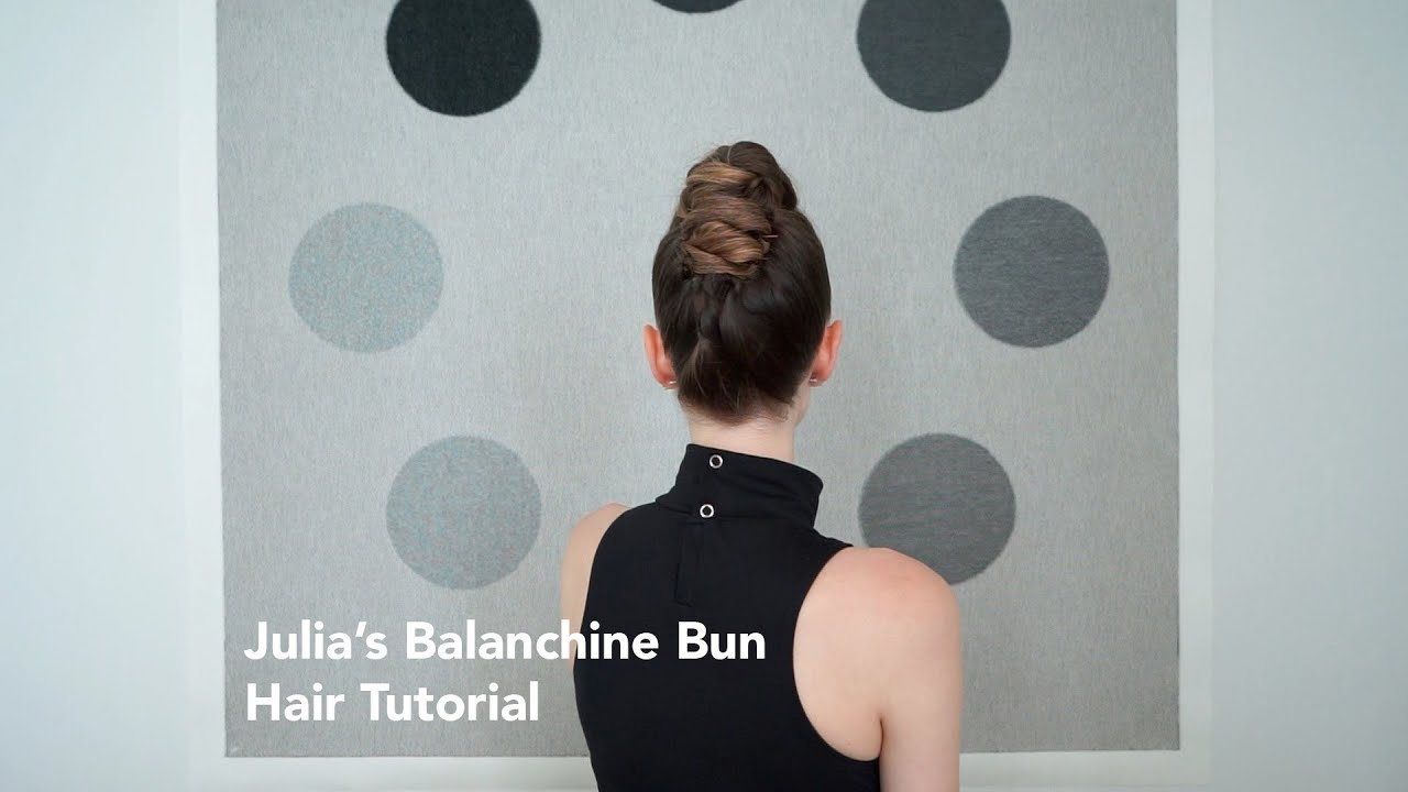 Balanchine Bun Hair Tutorial