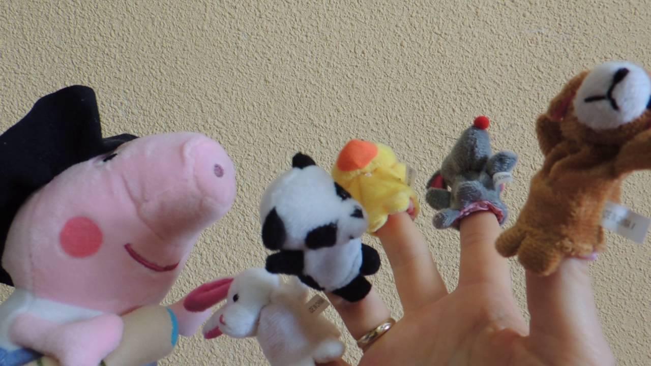 Peppa Pig Song in German Finger Family  Peppa Wutz auf Deutsch