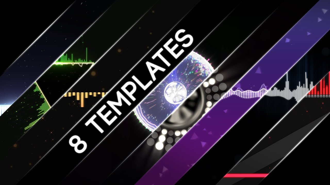 Free After Effects CS6+ Audio Visualization Templates - YouTube