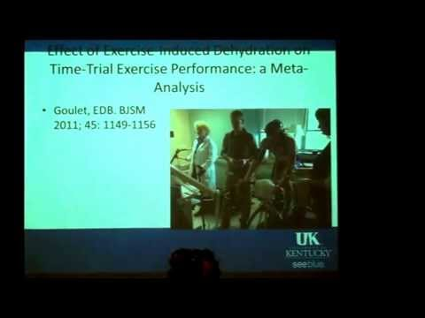 "W. Scott Black, MD ""Water or Sports Drink During Endurance Exercise"""