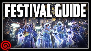 APPRECIATION FESTIVAL GUIDE - Rewards Armor & More! | MHW Iceborne