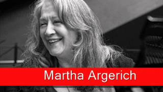 Martha Argerich: Chopin - Scherzo No. 2 in B flat minor, Op. 31