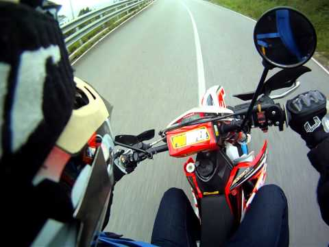 Gas Gas FSE 450 Morad Supermotard SM GoPro HD 960 Akrapovic