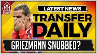 GRIEZMANN Snubbed By MANCHESTER UNITED For SANCHEZ! Man Utd Transfer News
