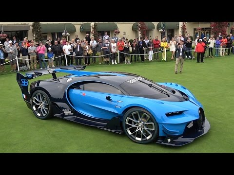 How Much Did Bugatti Sell the Vision GT For?