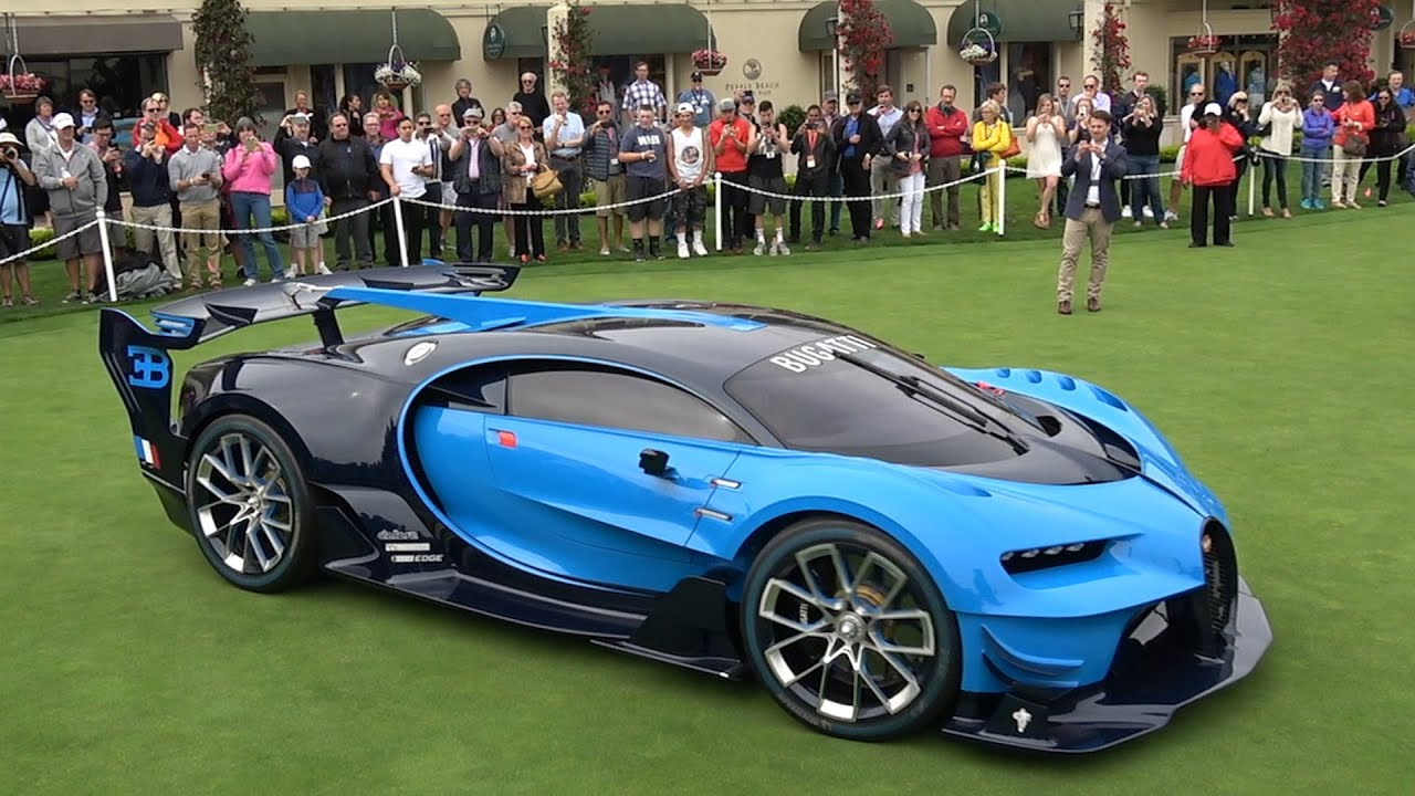 how much did bugatti sell the vision gt for? - youtube
