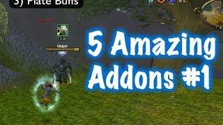 5 Amazing Addons #1 (World of Warcraft)
