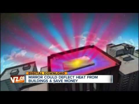 Engineers at Stanford University invent material to beam heat away from buildings