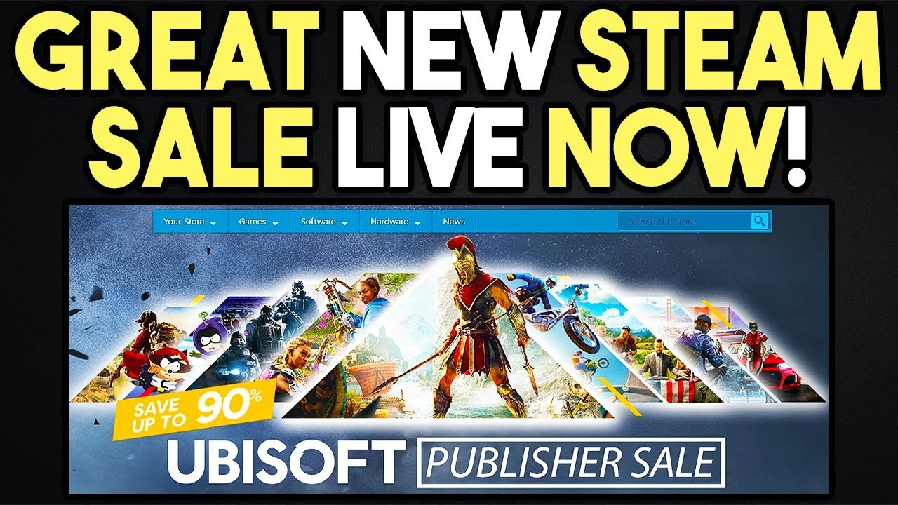 GREAT NEW STEAM SALE LIVE RIGHT NOW - CHEAP PC GAMES!