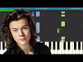 Harry Styles - Ever Since New York - Piano Tutorial / Cover - Instrumental