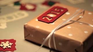 Оформление новогодних подарков своими руками(Используйте набор для оформления новогодних подарков от дизайнера Анохина Рита www.artdecor.pro vk.com/artdecor_pro новог..., 2014-11-15T18:31:57.000Z)