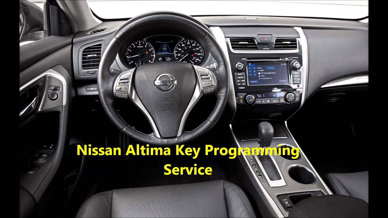 Nissan Altima 2008 Intelligent Key Replacement 516 218 2779 The