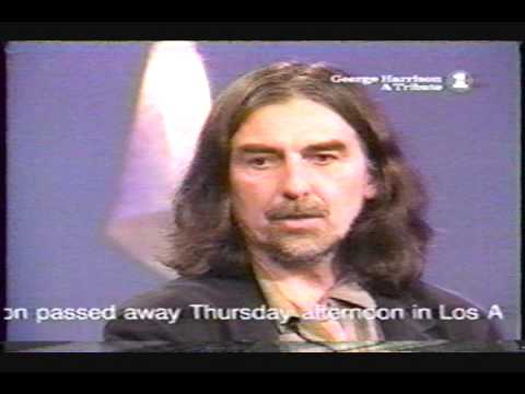 George Harrison - the complete last performance