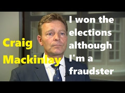 """Tory fraud Craig Mackinlay: """"I won the elections although I'm a fraudster"""""""