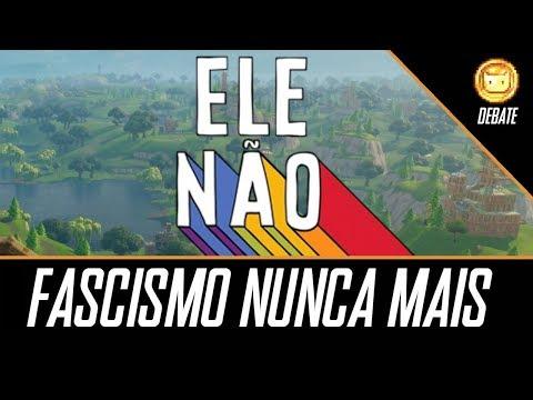 Fortnite CONTRA O FASCISMO   O Risco Bolsonaro #EleNão