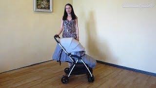 Прогулочная коляска Cam Curvi (Кам Курви) - самая легкая коляска Cam (Италия) Видеообзор