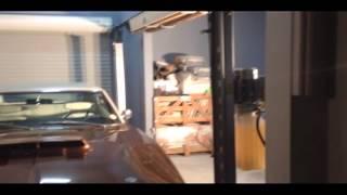 Lowering RT Charger on Lift King V8 Car Hoist