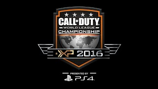 CHAMPIONSHIP SUNDAY 2016 - Call of Duty World League Championship Presented by PlayStation 4