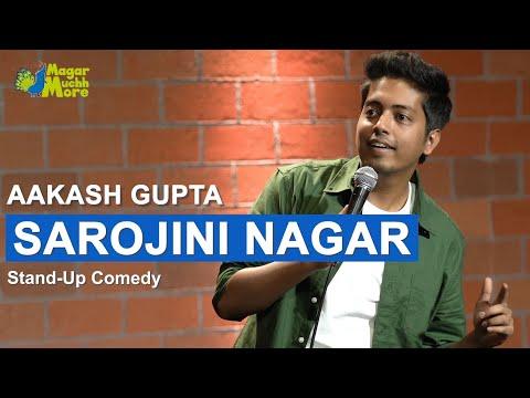 Sarojini Nagar | Excuse Me Brother | Stand-Up Comedy by Aakash Gupta