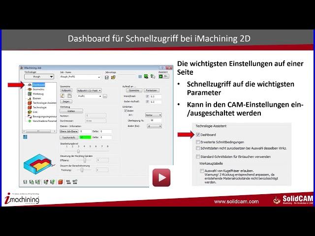 SolidCAM 2017 - Neue Funktionen – Teil 2