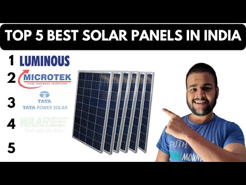 Best Solar Panels in India 2020 | Solar Panel Price for Home Use & Solar Panels Buying Guide
