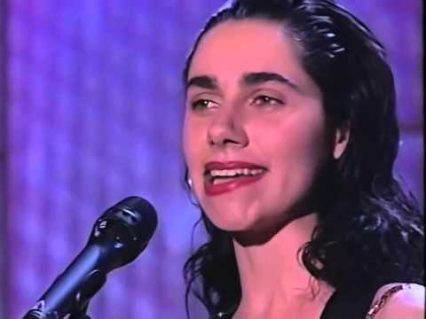 PJ Harvey Rid of Me Live On The Tonight Show with Jay Leno (1993)