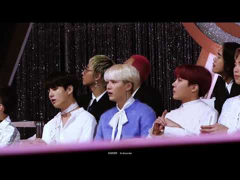 [Fancam]Suga, JHope& JungKook reaction to  'Like It