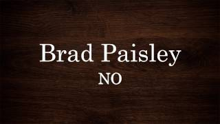 Watch Brad Paisley No video