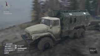 MudRunner: A Spintires game the river