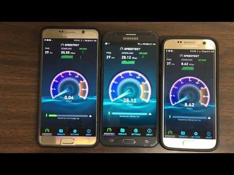 Speedtest : T-Mobile Postpaid vs Verizon Prepaid vs AT&T GoPhone