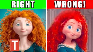 What's Wrong With Disney Princess Merida In Wreck It Ralph 2