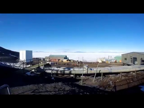 Time Lapse shot with Blink at the McMurdo Station in Antarctica