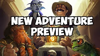 Hearthstone Adventure Preview: League of Explorers - Temple Escape!