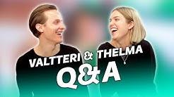 PALJON NÄYTTELIJÄT TIENAA? Thelma & Valtteri Q&A