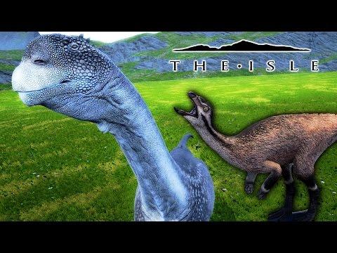 The Isle UPDATE - CAMARASAURUS EARLY ACCESS, ORODROMEUS IS CUTE & MAJOR APEX CHANGES! ( Gameplay )