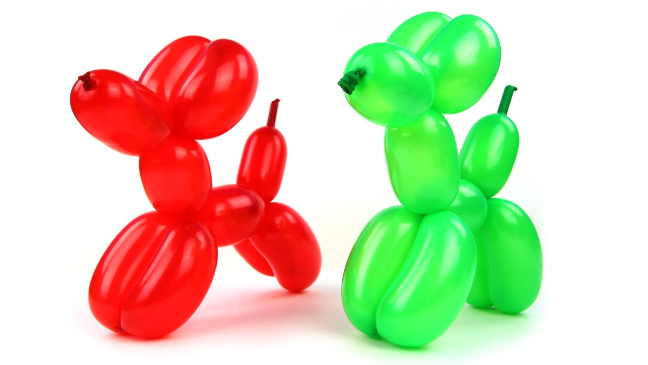 How To Make A Balloon Animal Dog