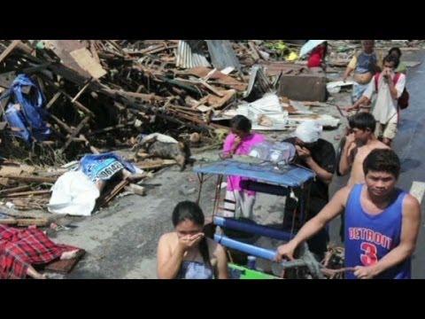 Typhoon Haiyan leaves Tacloban in ruins