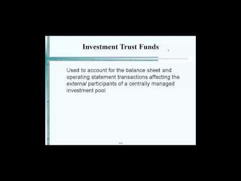 Investment Trust Funds