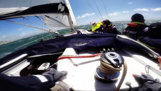 Round the Island 2016 - GoPro - Beneteau Oceanis 37