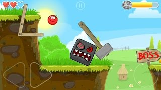 - Playing RED BALL 4 with Tomato Ball and killing the BOSS in Volume 1 all levels played