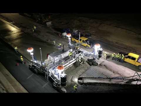 Concrete Paving Equipment Line