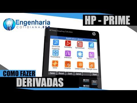 Como Fazer Derivadas HP Prime
